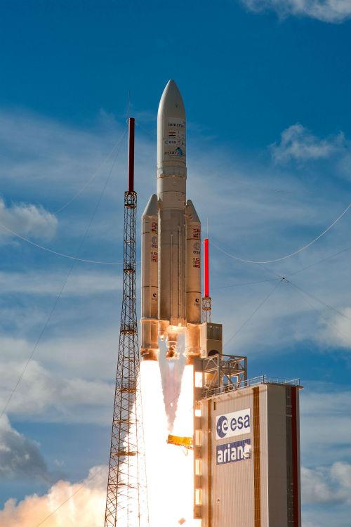 Cohete Ariane 5 de Arianespace - Calendario de Lanzamientos Espaciales