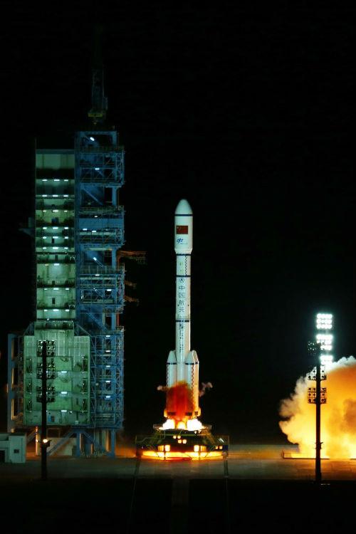 Cohete Long March 2F/T de China - Calendario de Lanzamientos Espaciales