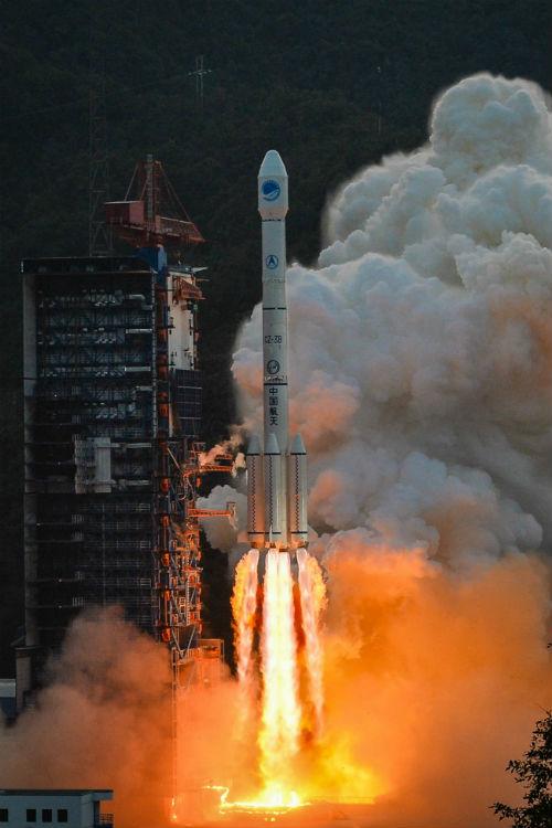 Cohete Long March 3B de China - Calendario de Lanzamientos Espaciales