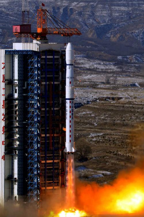 Cohete Long March 4B de China - Calendario de Lanzamientos Espaciales