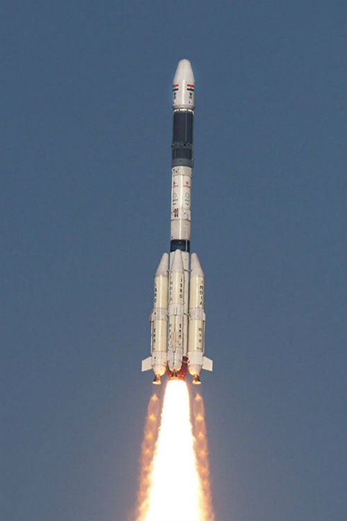 Cohete GSLV Mark 2 de India - Calendario de Lanzamientos Espaciales