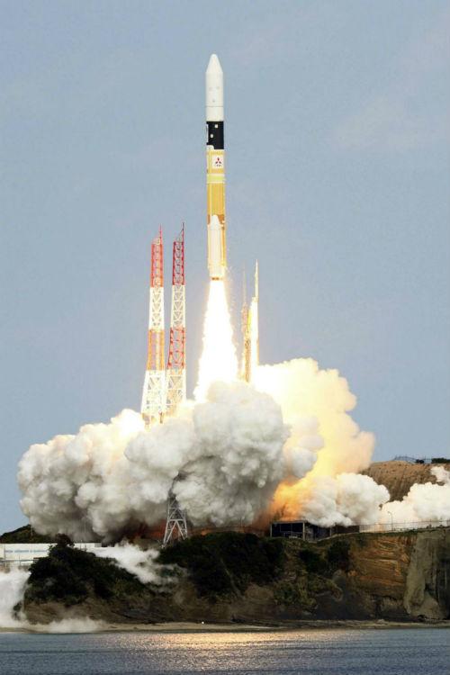 Cohete H-2A de Japón - Calendario de Lanzamientos Espaciales