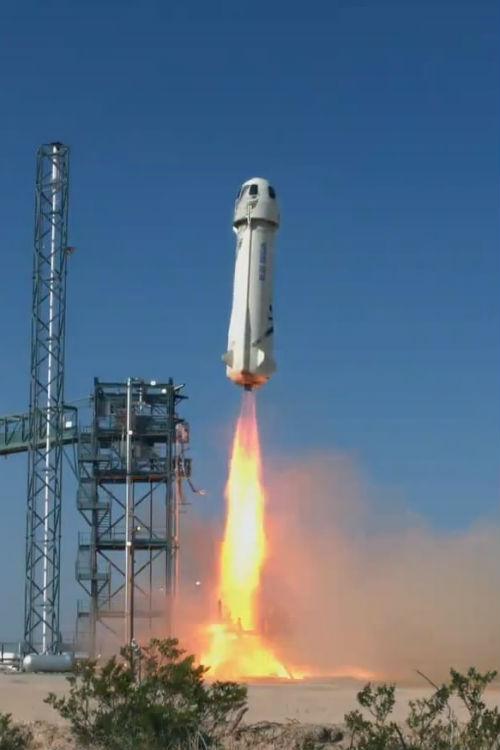 Cohete New Shepard de Blue Origin - Calendario de Lanzamientos Espaciales