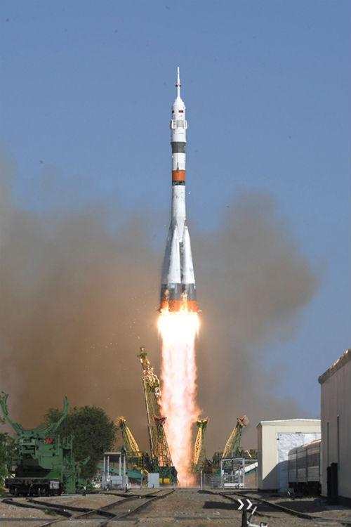 Cohete Soyuz-2.1a tripulado de Rusia - Calendario de Lanzamientos Espaciales