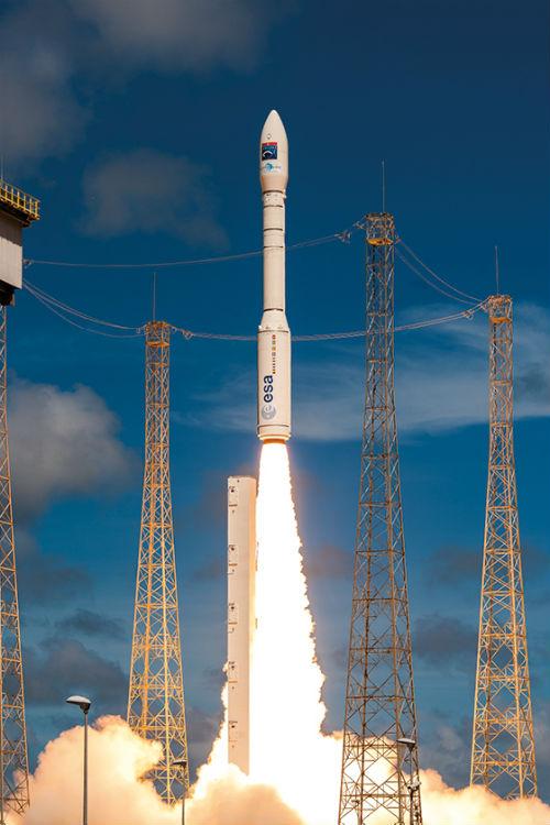 Cohete Vega de Arianespace - Calendario de Lanzamientos Espaciales