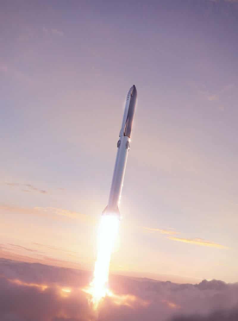 Concepto del cohete