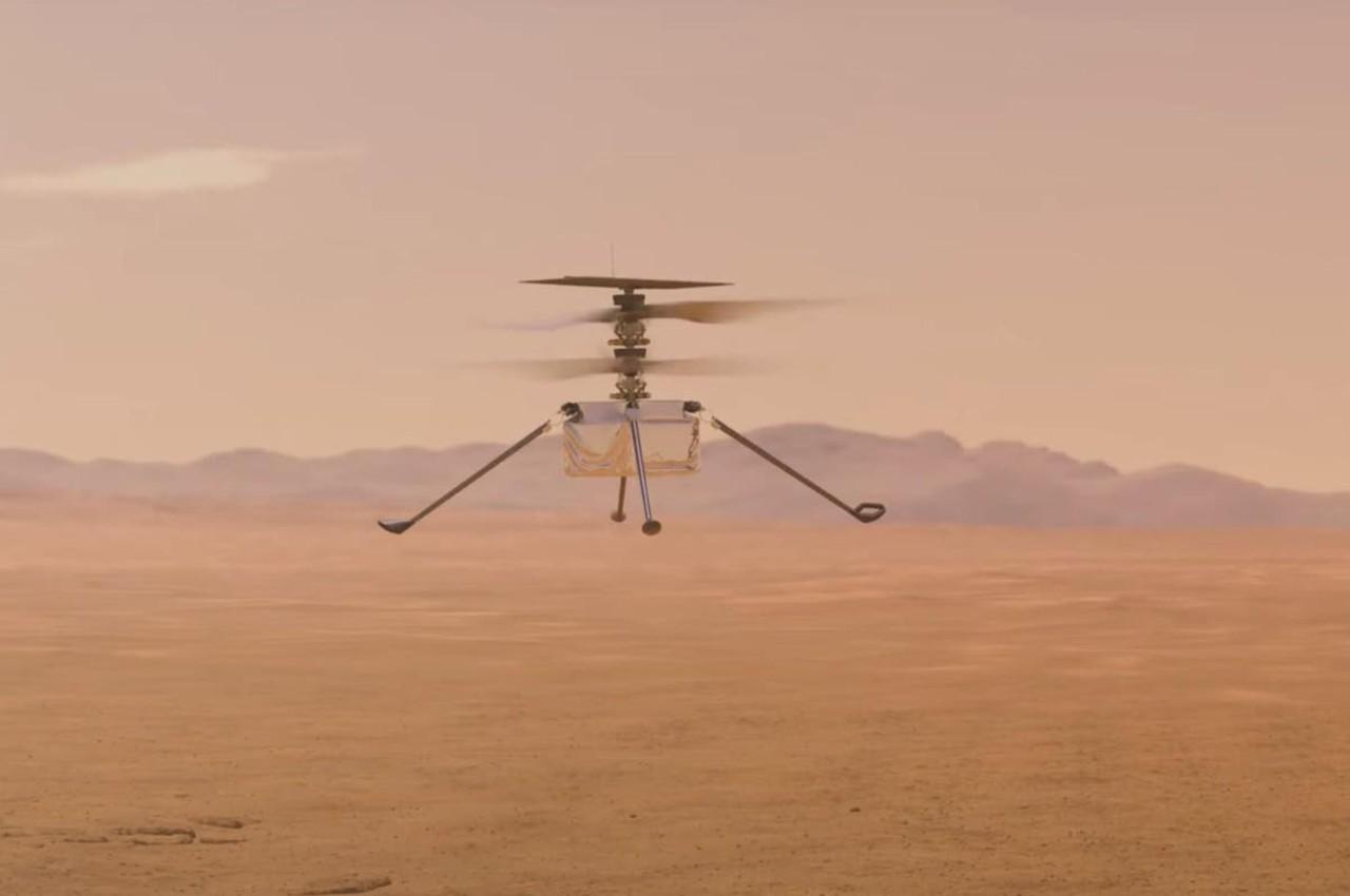 Helicóptero Ingenuity en Marte, primer vuelo propulsado en otro planeta - Calendario de Eventos Espaciales