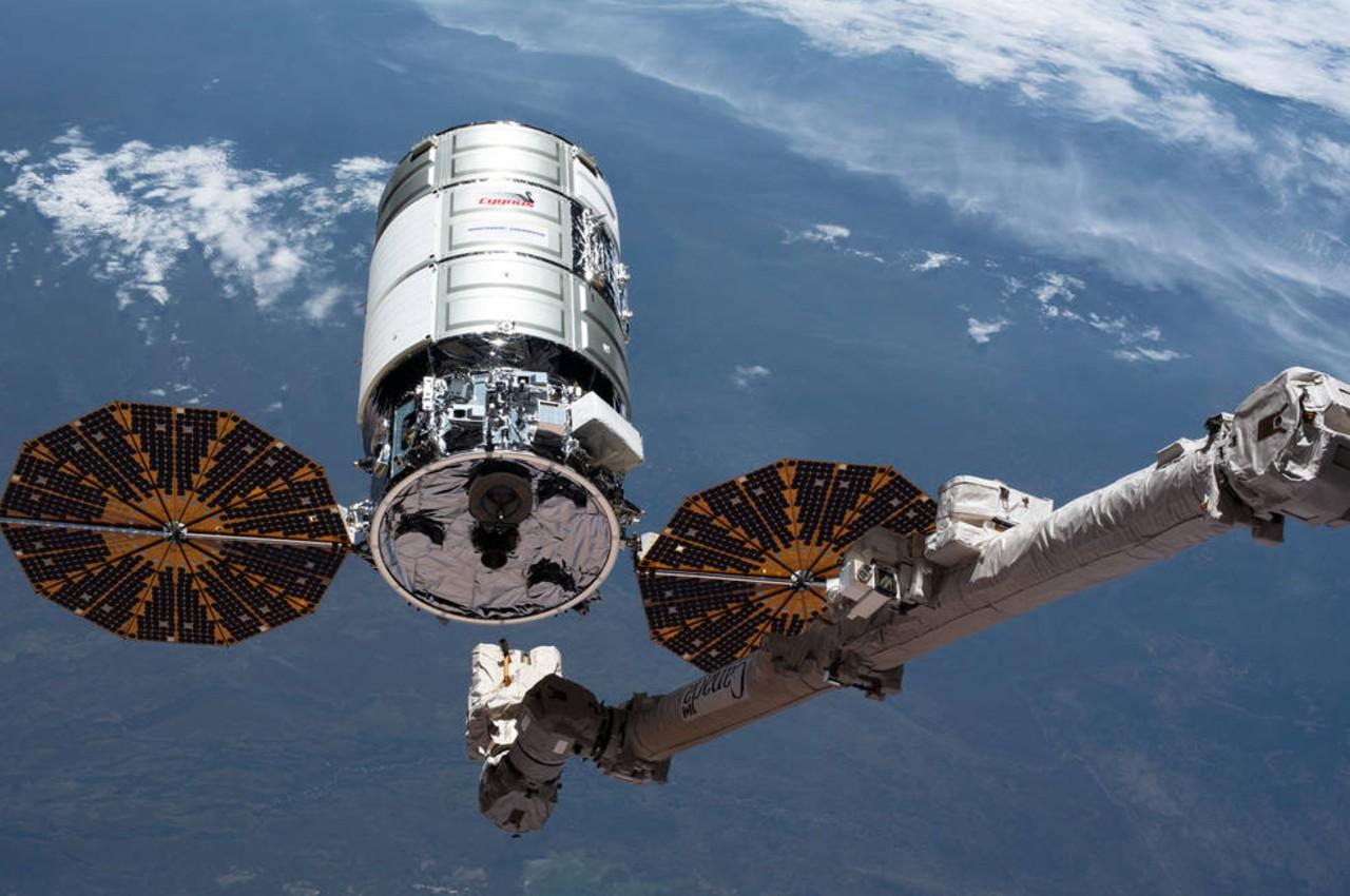 Cápsula de carga Cygnus de Northrop Grumman en la Estación Espacial Internacional - Calendario de Eventos Espaciales