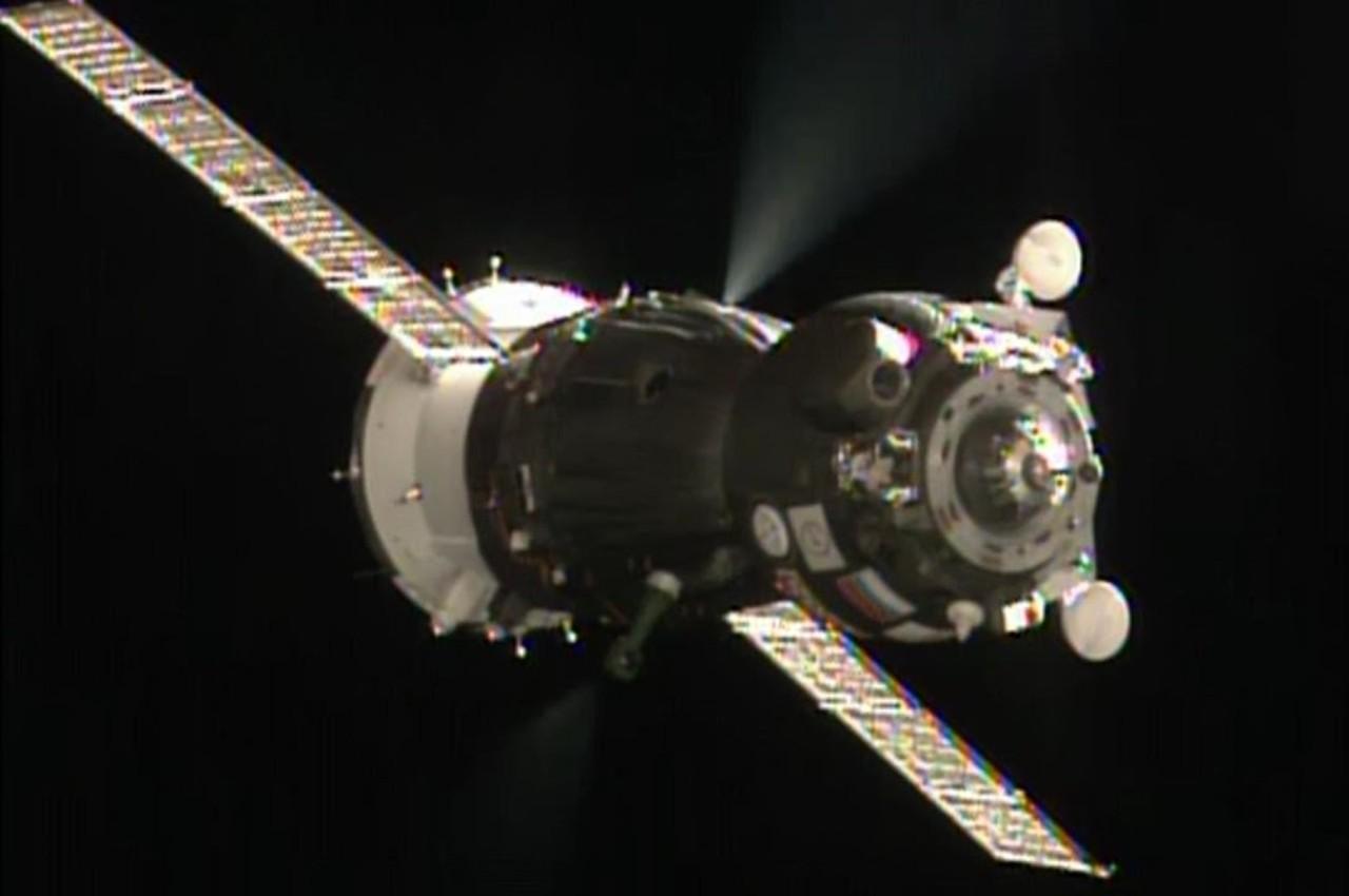 Cápsula tripulada Soyuz de Roscosmos en la Estación Espacial Internacional - Calendario de Eventos Espaciales
