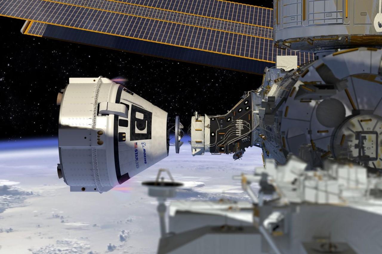 Cápsula tripulada Starliner de Boeing en la Estación Espacial Internacional - Calendario de Eventos Espaciales