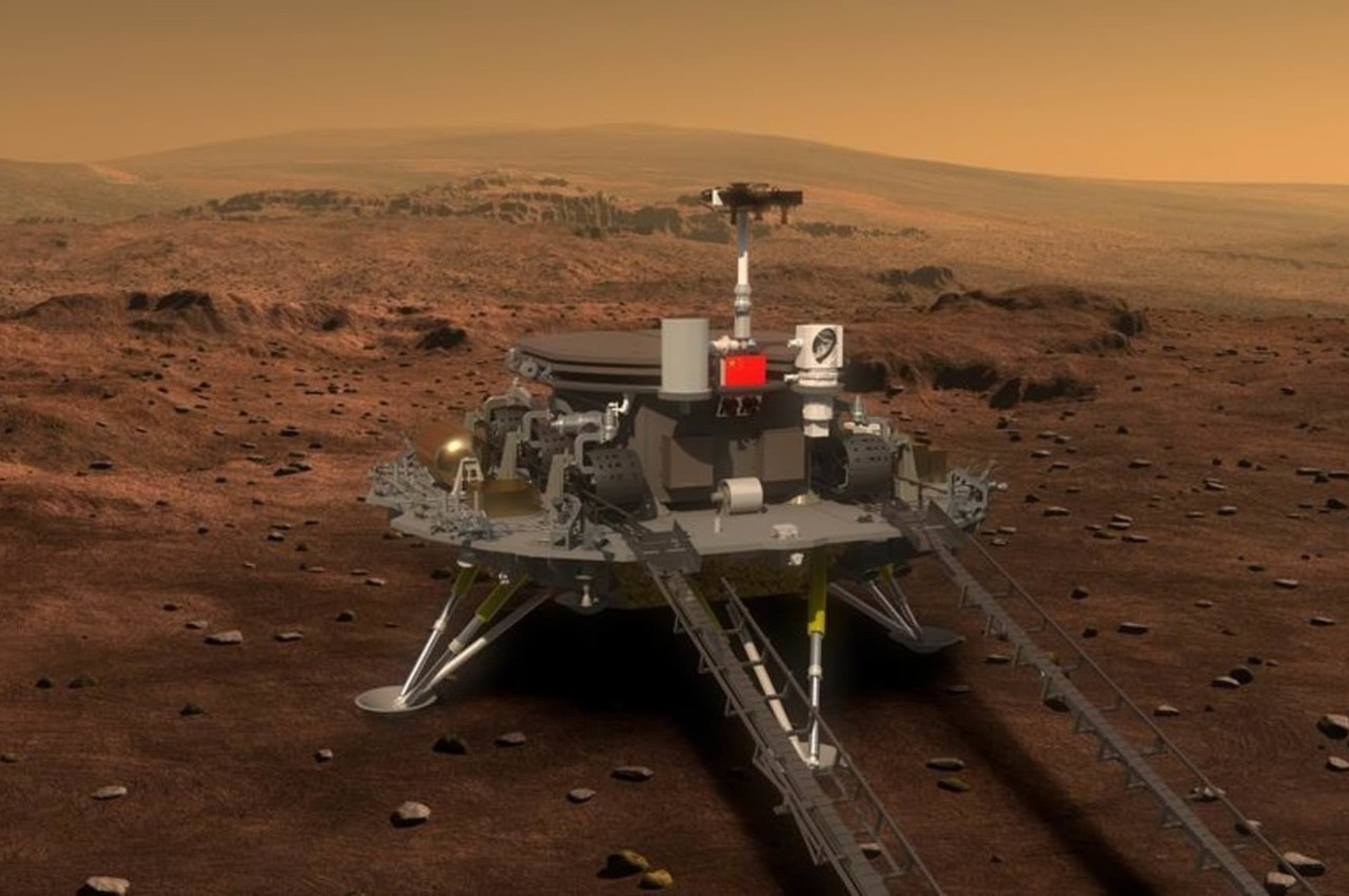 Módulo de aterrizaje de la sonda china Tianwen-1 - Calendario de Eventos Espaciales